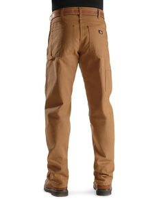 Dickies Duck Twill Work Jeans, Brown Duck, hi-res