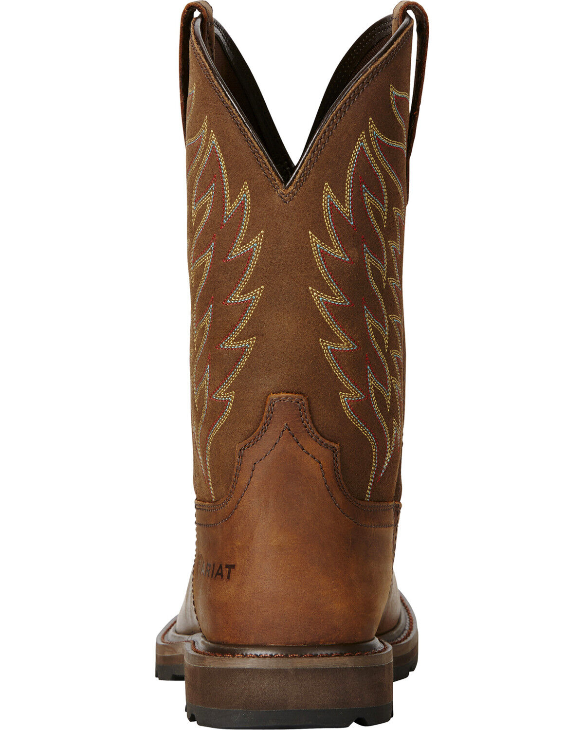 Ariat Men\u0027s Groundbreaker Square Toe Western Work Boots