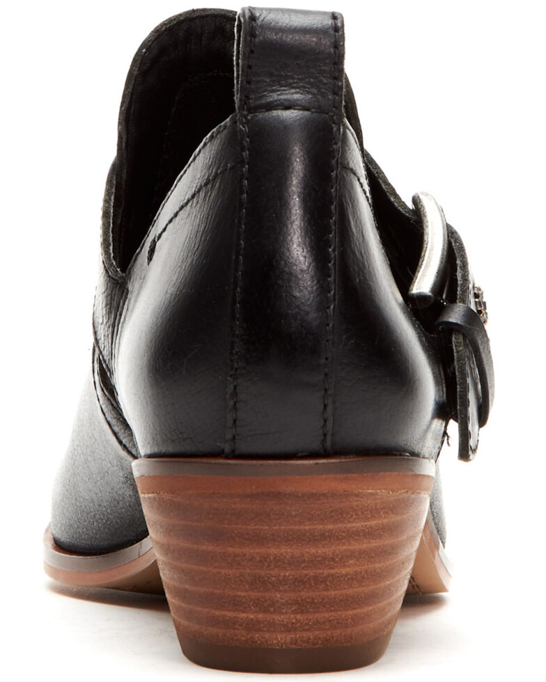 Frye Women's Rubie Moto Fashion Booties - Pointed Toe, Black, hi-res