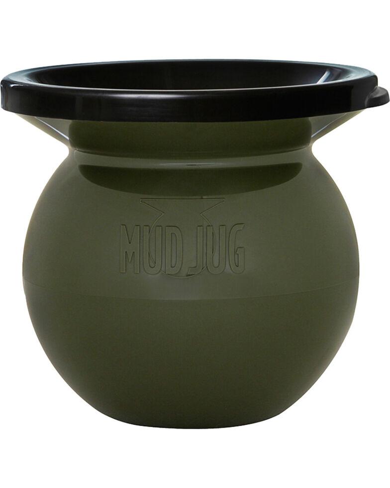 Mud Jug Classic Spittoon , Olive, hi-res