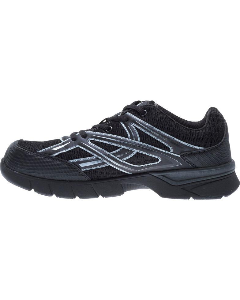 Wolverine Women's Jetstream Work Shoes - Composite Toe, Black, hi-res