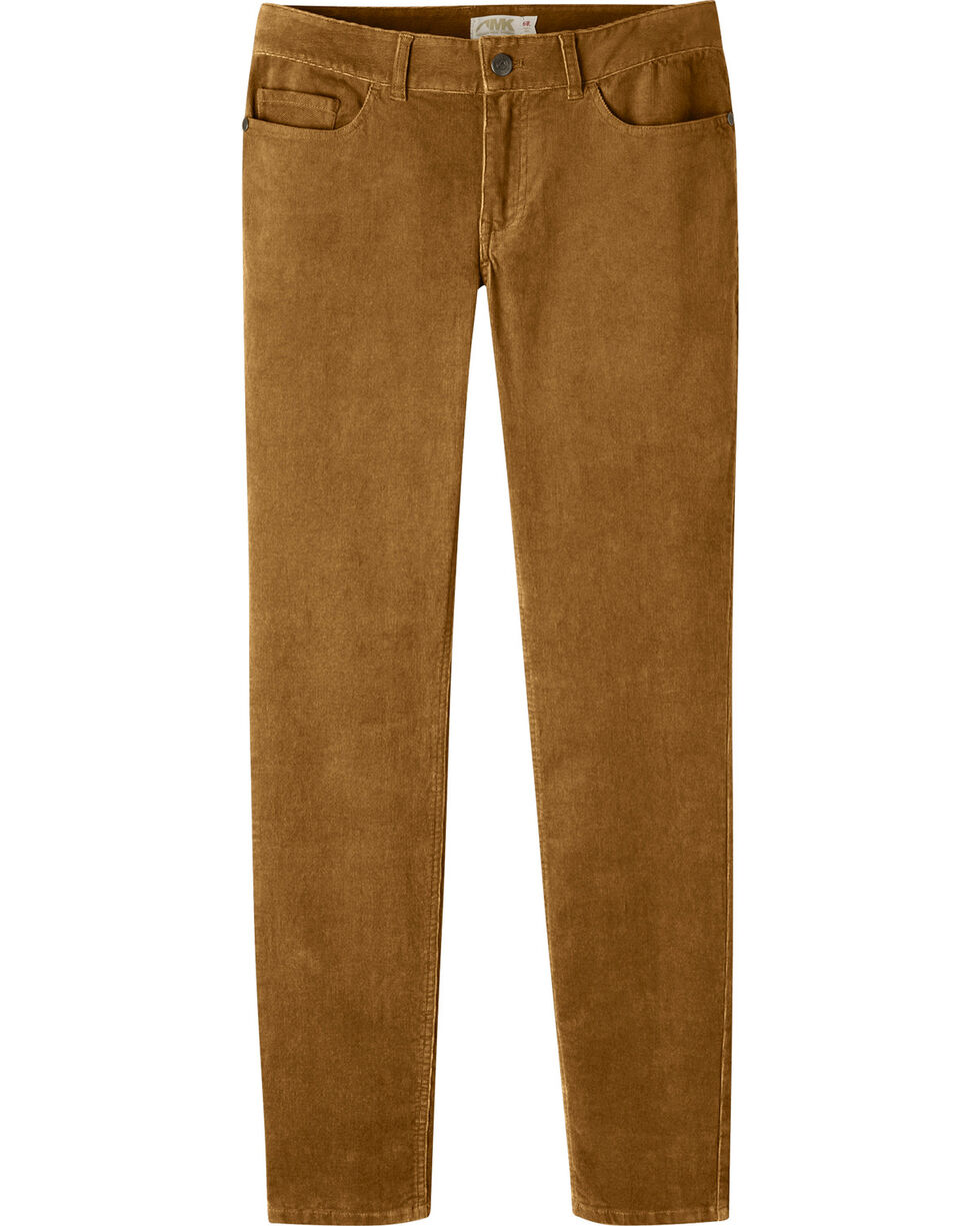 Mountain Khakis Women's Canyon Cord Slim Fit Skinny Pants, Brown, hi-res