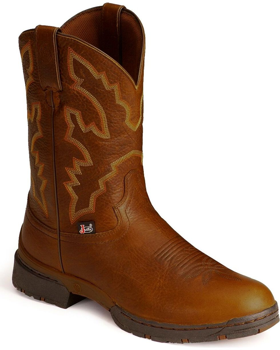 George Strait by Justin Men's 3.1 Series Waterproof Western Boots, Sunset, hi-res