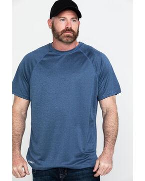 Hawx® Men's Solid Performance Work T-Shirt - Big , Navy, hi-res
