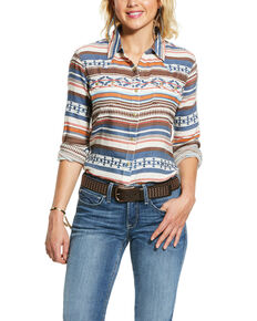 Ariat Women's R.E.A.L. Tribal Long Sleeve Western Shirt - Plus , Multi, hi-res