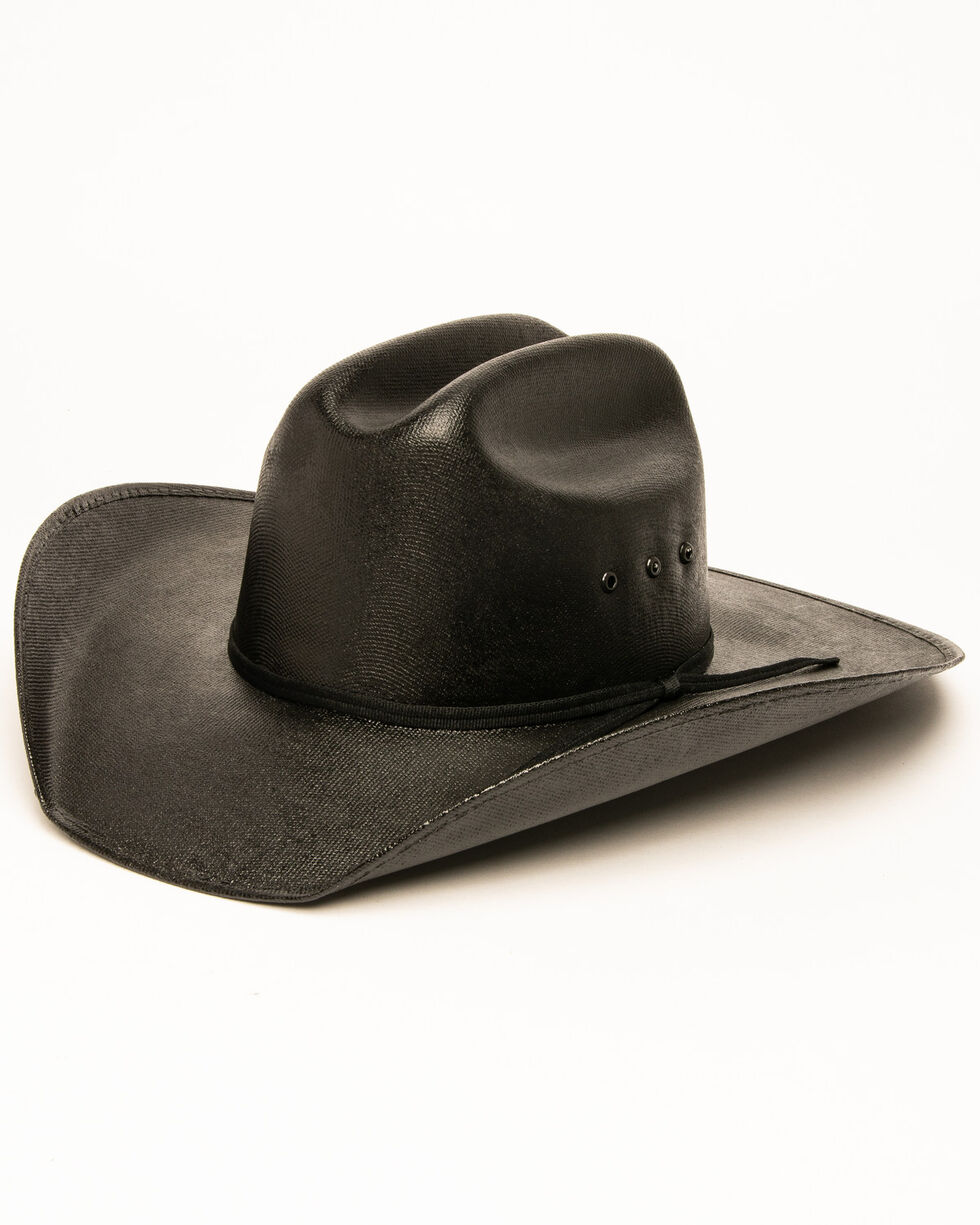 Cody James Youth Cattleman Cowboy Hat, Black, hi-res