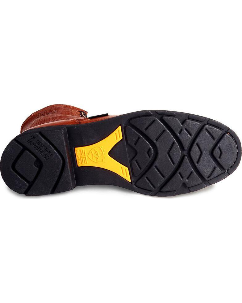 """Ariat Men's 8"""" Cascade Work Boot, Bronze, hi-res"""