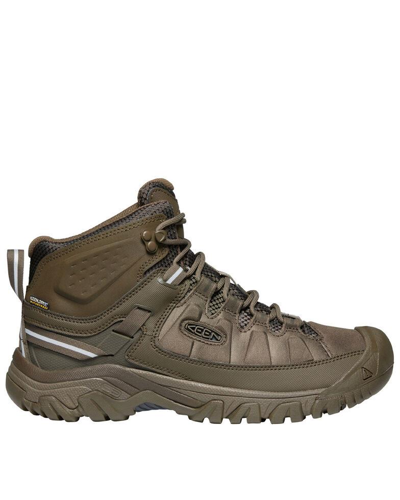 Keen Men's Targhee Waterproof Hiking Boots - Soft Toe, Brown, hi-res