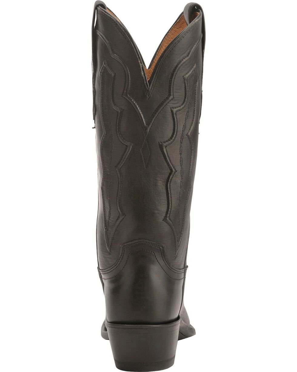 Lucchese Women's Grace Western Boots, Black, hi-res