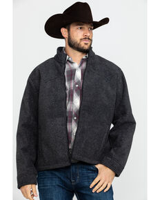 Outback Trading Co. Men's Oregon Jacket , Charcoal, hi-res