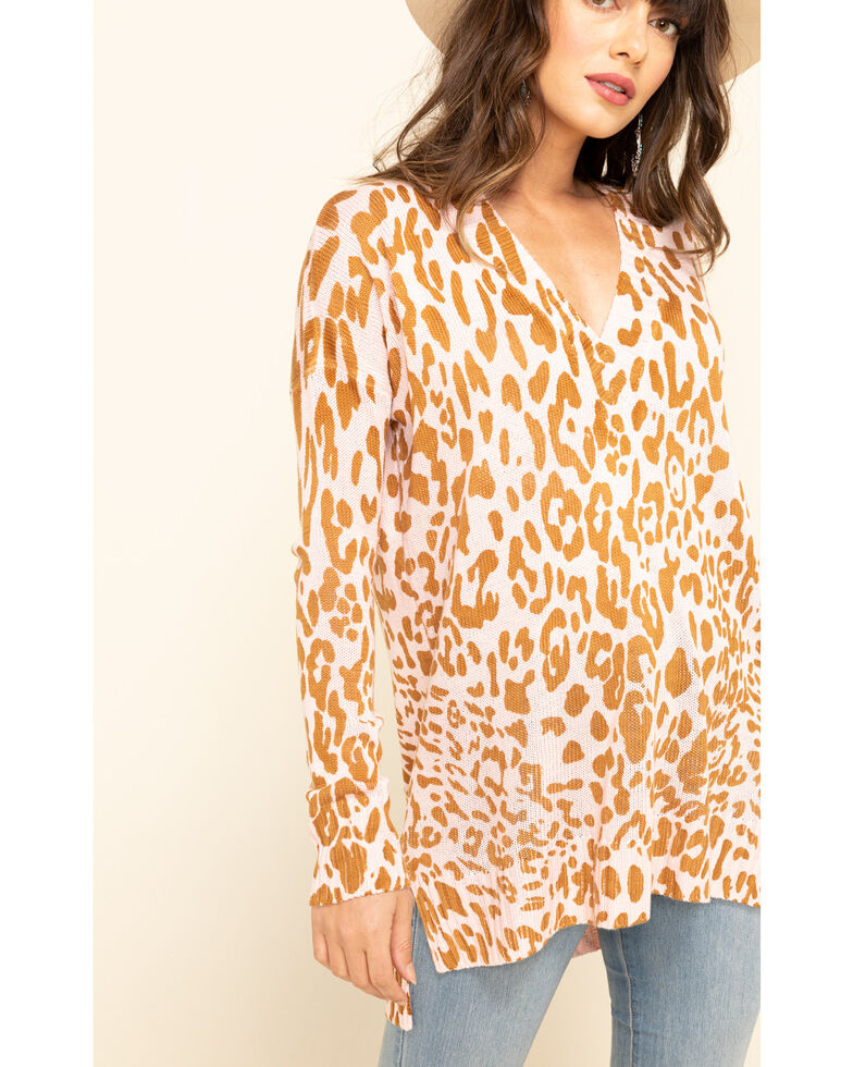 Show Me Your Mumu Women's Cliffside Leopard Sweater, Multi, hi-res