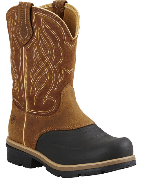 Ariat Women's Whirlwind H2O Work Boots, Brown, hi-res