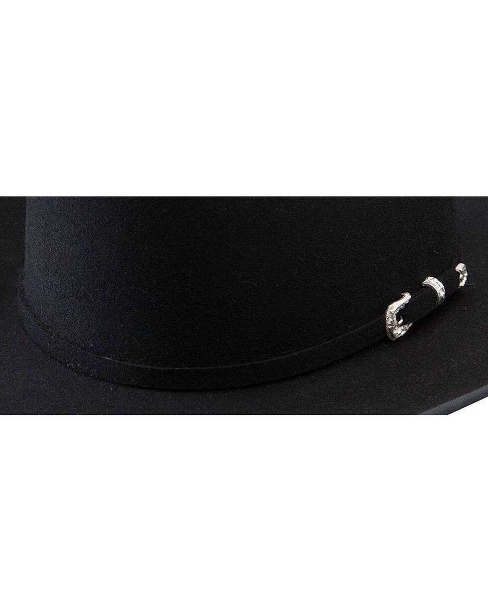 Stetson Mens' Legendary 5X Felt Hat, Black, hi-res
