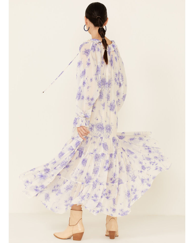 Free People Women's Feeling Groovy Maxi Dress , Multi, hi-res
