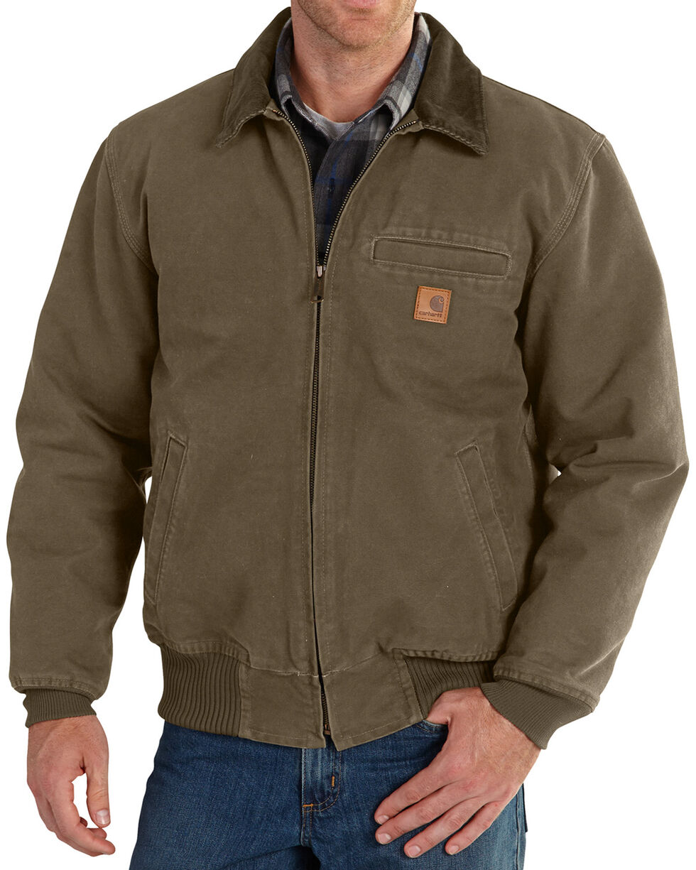 Carhartt Men's Light Brown Bankston Jacket - Big & Tall, Light Brown, hi-res