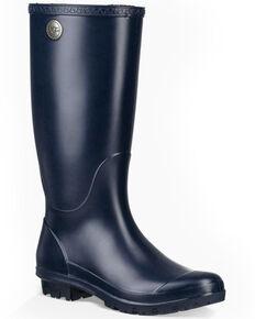 UGG Women s Shelby Matte Rain Boots - Round Toe 10b334b13f