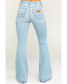 Wrangler Women's Heritage Tencel Flare Jeans, Light Blue, hi-res