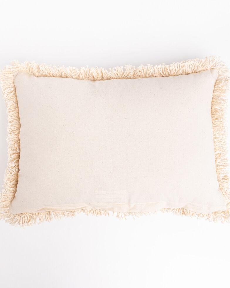 Boot Barn Ranch Yeehaw Pillow , White, hi-res