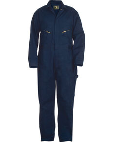 Berne Deluxe Unlined Coveralls, Navy, hi-res