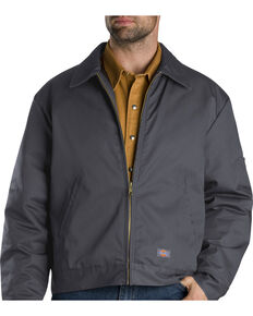 Dickies ® Insulated Eisenhower Jacket - Big & Tall, Charcoal Grey, hi-res