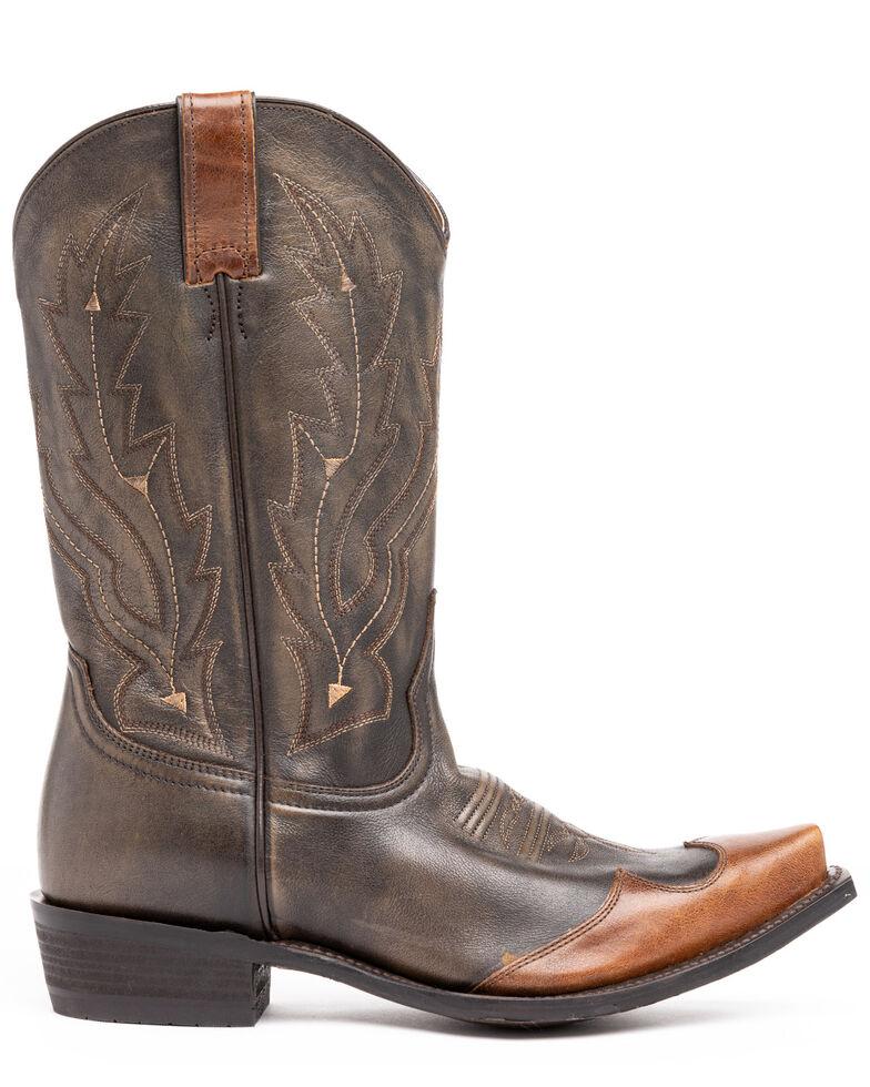 Cody James Men's Herbert Western Boots - Snip Toe, Brown, hi-res