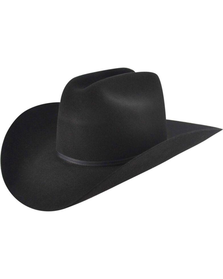d17cc2439378a Zoomed Image Bailey Western Stampede Cattleman Crown Cowboy Hat, Black,  hi-res