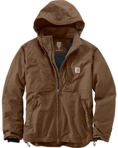 Carhartt Men's Full Swing Cryder Work Jacket - Big & Tall, Canyon, hi-res