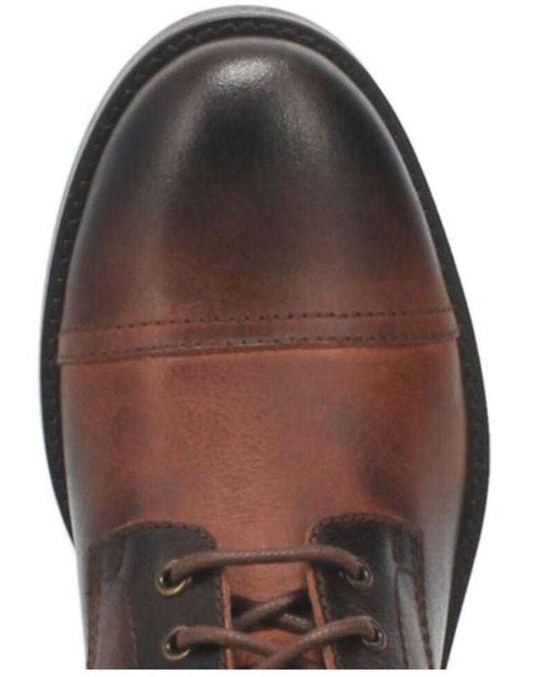 Dingo Men's Arcade Lace-Up Boots - Round Toe, Brown, hi-res