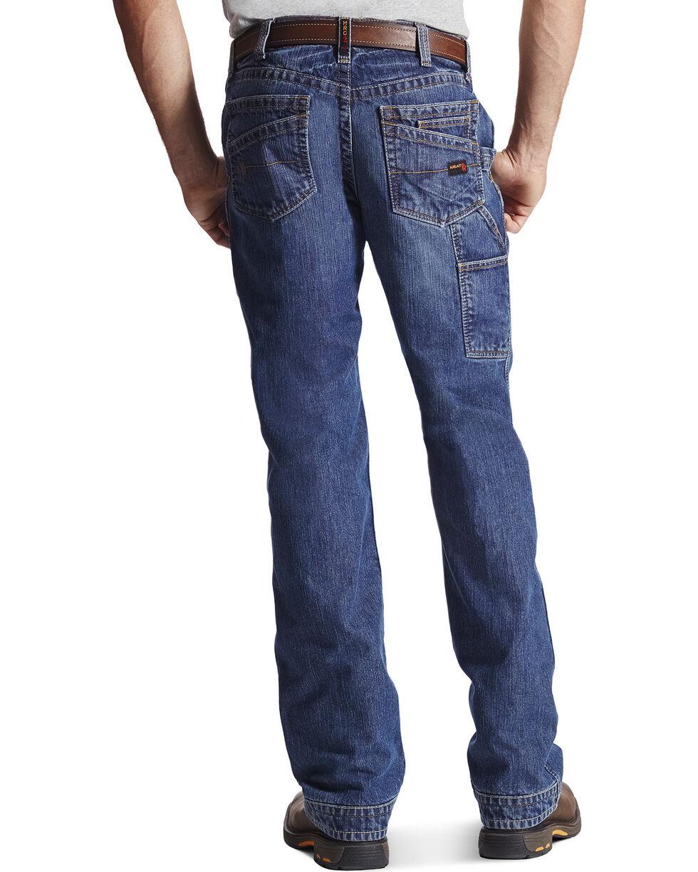 Ariat Men's FR M4 Workhorse Relaxed Fit Pants, Denim, hi-res