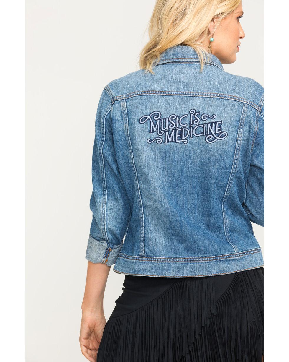 Idyllwind Women's Music is Medicine Denim Jacket, Blue, hi-res