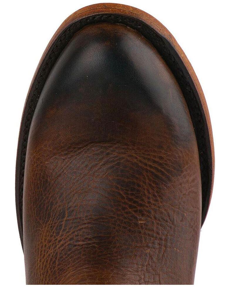 Lane Women's Plain Jane Cognac Booties - Round Toe, Honey, hi-res