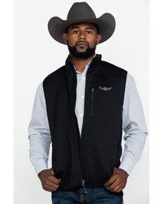 Ariat Men's Determination Full Zip Vest , Black, hi-res