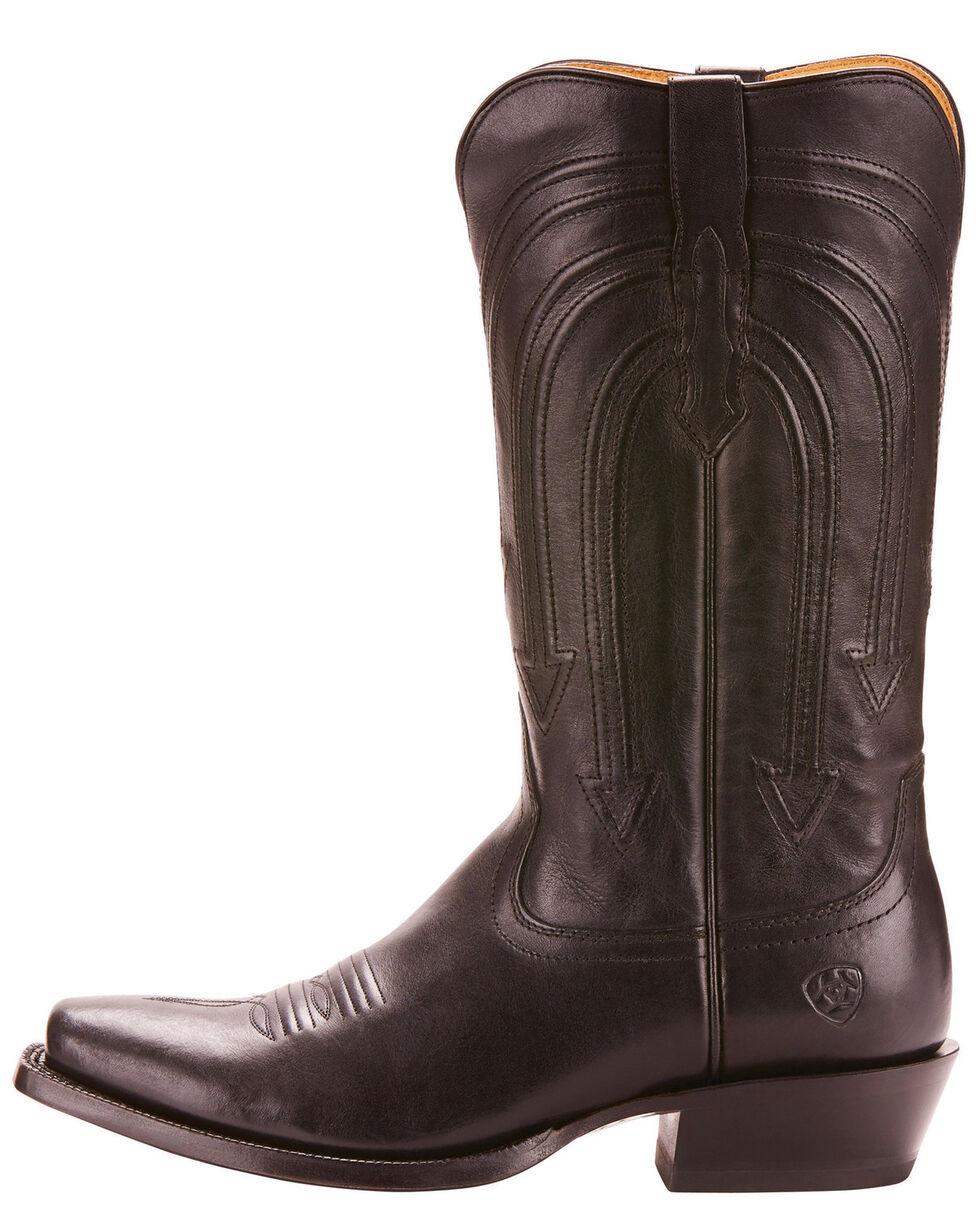 Ariat Men's Black Saturday Night Boots - Narrow Square Toe , Black, hi-res