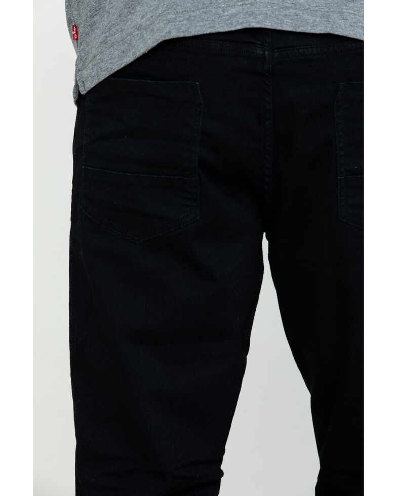 Silver Men's Machray Performance Stretch Classic Straight Jeans , Black, hi-res