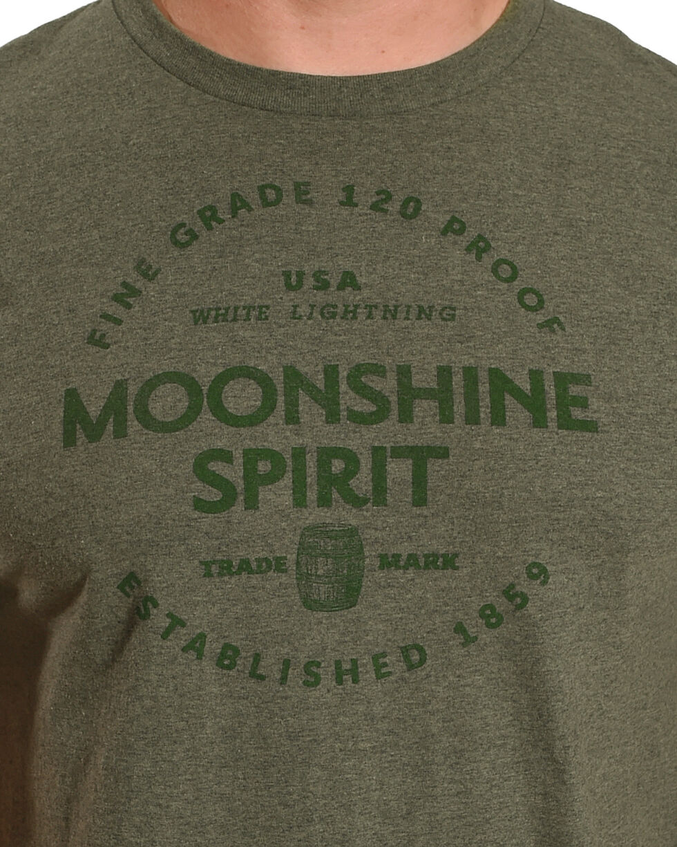 Moonshine Spirit Men's Barrel Aged T-Shirt, Green, hi-res
