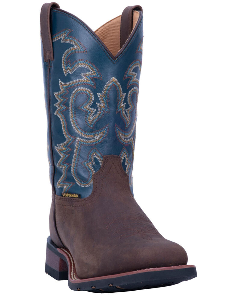 Laredo Men's Hamilton Western Boots - Wide Square Toe, Tan, hi-res