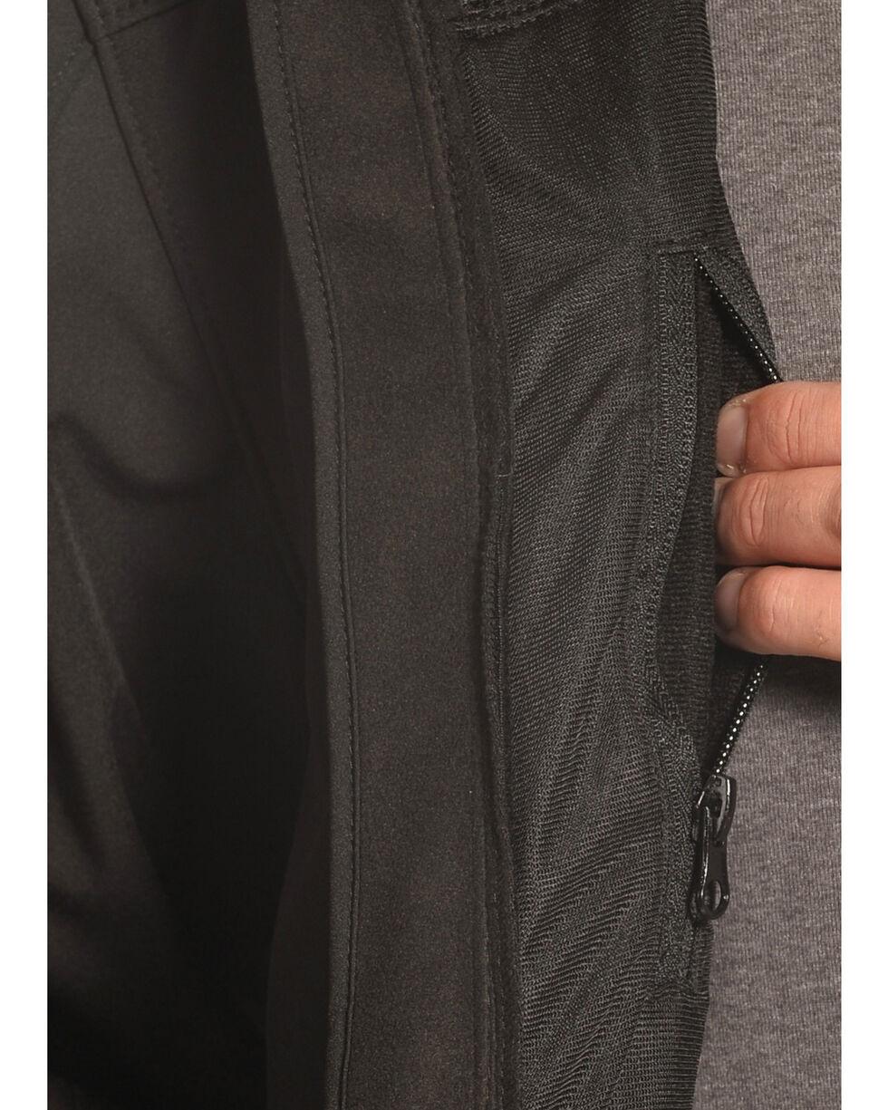 Forge Workwear Men's Black Lined Bonded Jacket , Black, hi-res
