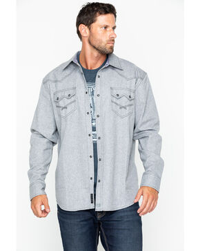 Moonshine Spirit Men's Siberia Flannel Shirt Jacket, Grey, hi-res