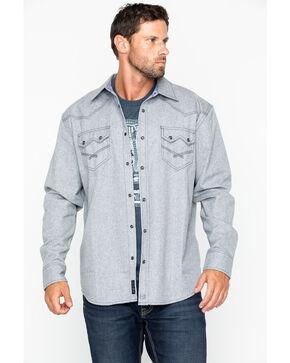 Moonshine Spirit Men's Siberia Flannel Shirt, Grey, hi-res