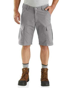 Carhartt Men's Grey Force Broxton Cargo Work Shorts , Grey, hi-res