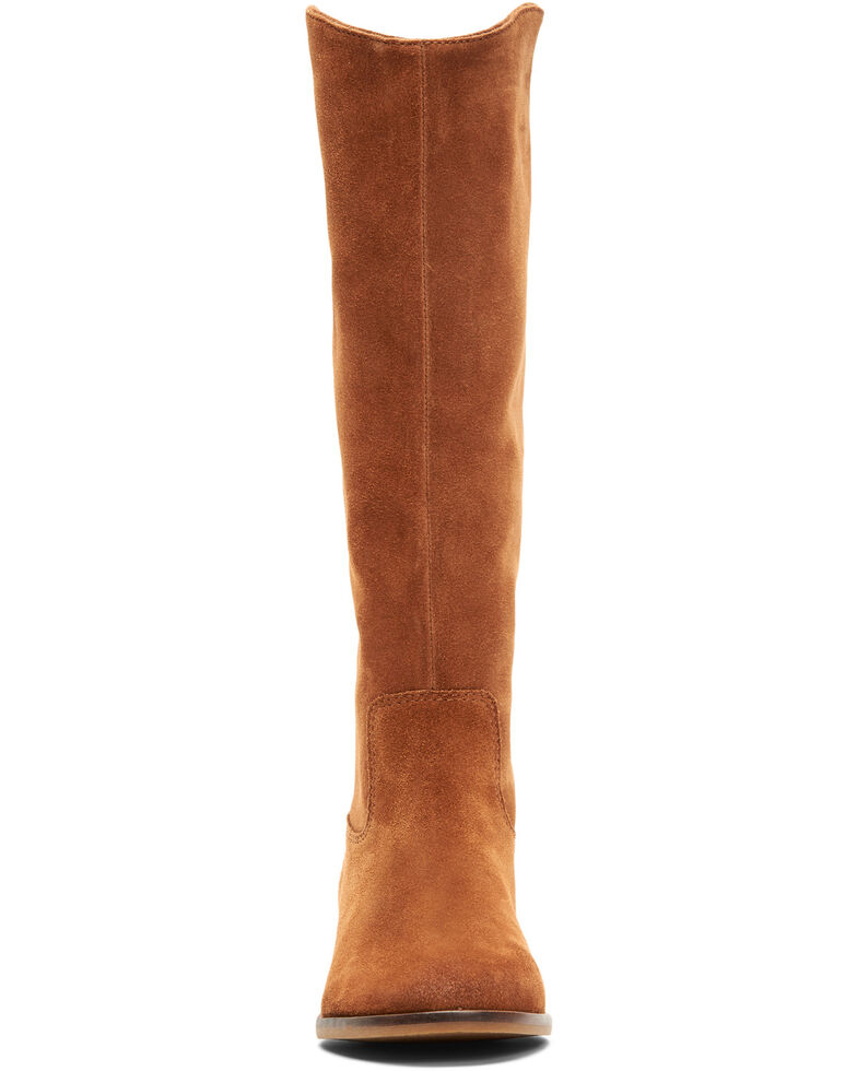 Frye & Co. Women's Caden Tall Stitch Western Boots, Cognac, hi-res