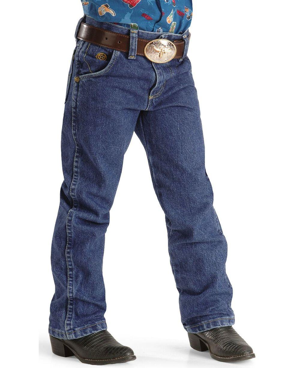 George Strait by Wrangler Boy's Jeans Size 1-7, Denim, hi-res
