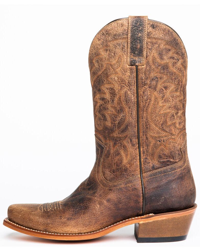 Moonshine Spirit Men's Cutaway Western Boots - Narrow Square Toe, Brown, hi-res