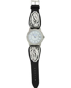 Montana Silversmiths Women's Silver Filigree Watch , Silver, hi-res