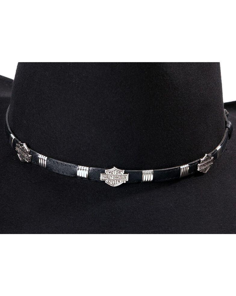 Harley Davidson Men's Crushable Felt Hat, Black, hi-res