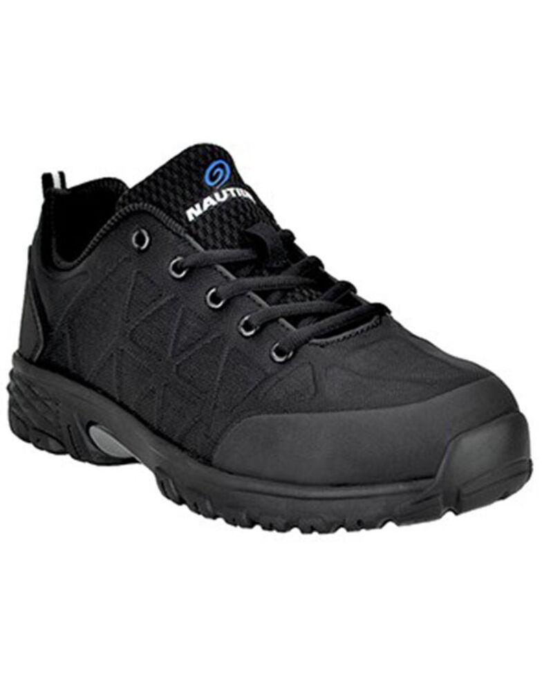 Nautilus Men's Spark Black Work Shoes - Carbon Toe, Black, hi-res
