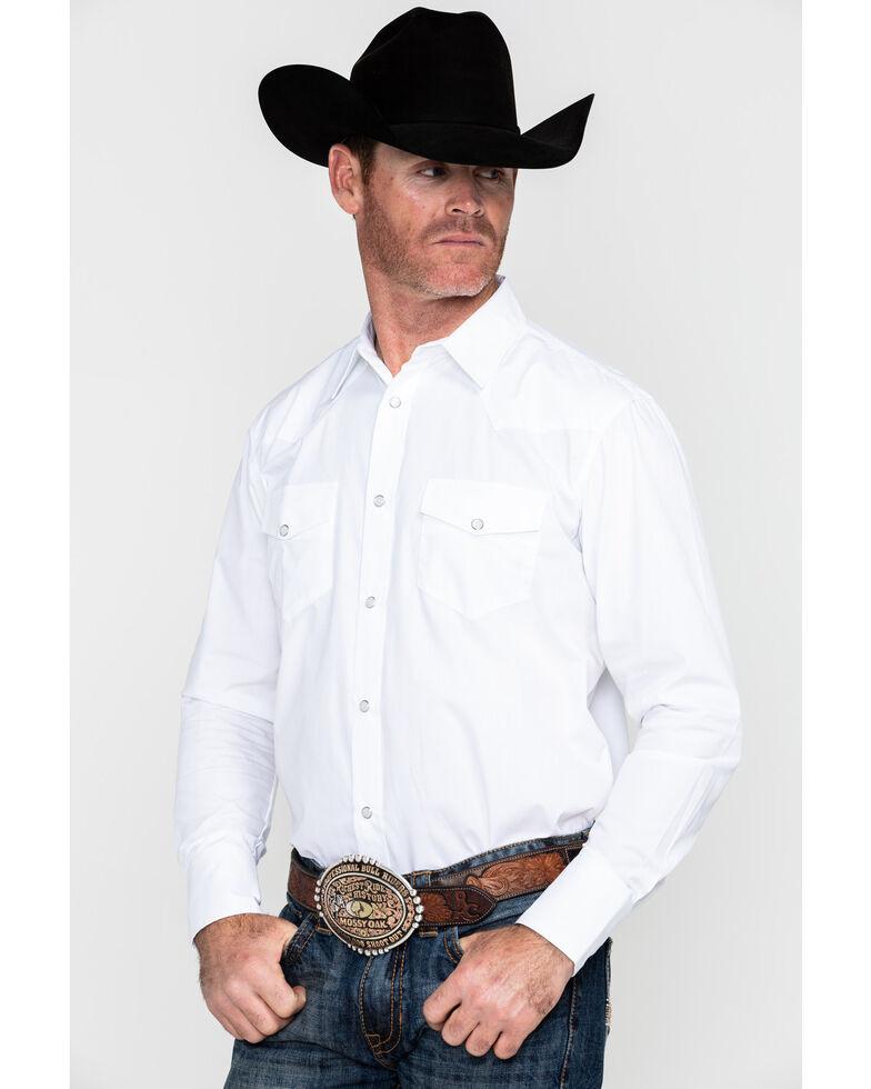 Gibson Trading Co. Men's White Water Long Sleeve Shirt , White, hi-res