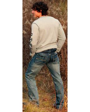 B. Tuff Men's Reckless Boot Cut Jeans, Indigo, hi-res
