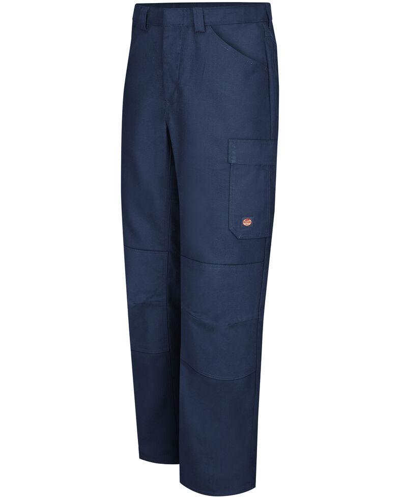Red Kap Men's Navy Performance Shop Pants , Navy, hi-res