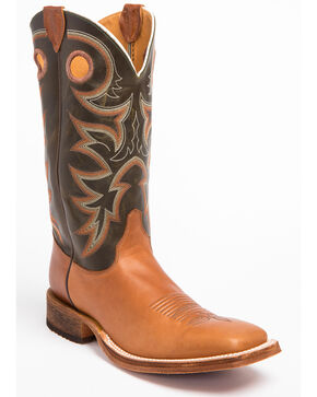 Justin Men's Bent Rail Western Boots, Copper, hi-res